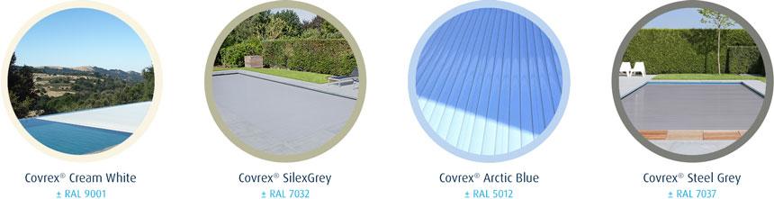 4 Covrex® colors