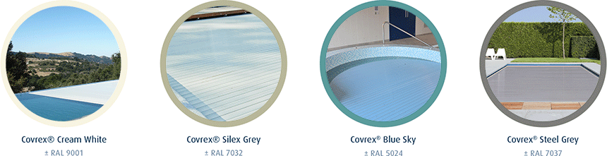 4 Covrex® colors